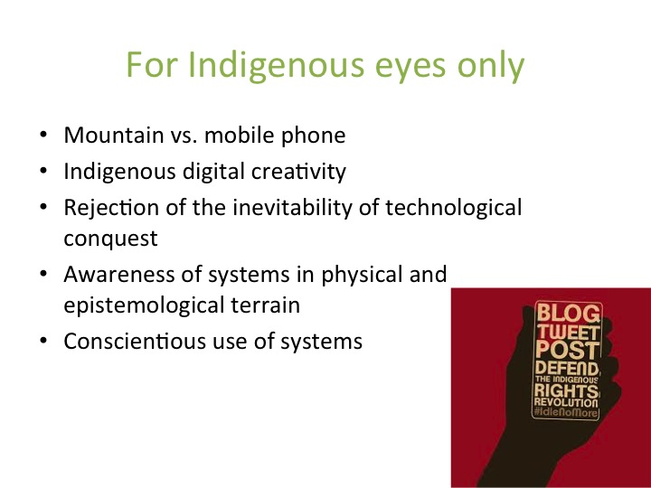 Indigenous Digital Creativity
